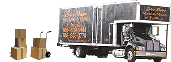 Blue Mountain Moving & Packing Truck